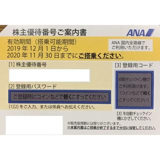 ANA株主優待券30枚セット 2020年11月30日 最新 送料無料(その他)
