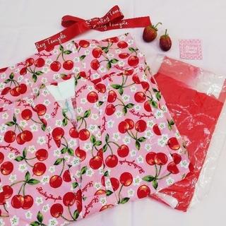 Shirley Temple - 【新品タグ付難あり】シャーリーテンプル さくらんぼ浴衣 120cm
