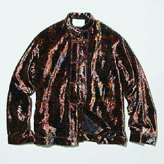 TOGA - toga virilis  velvet pulint shirt【未使用品】