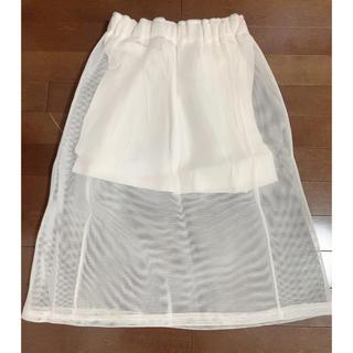 スタイルナンダ(STYLENANDA)のスポーティメッシュスカート (ひざ丈スカート)