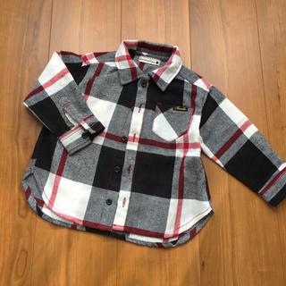 ブランシェス チェックシャツ90