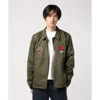 VANS -  定15984円名作タイガーローズ!VANS新品コーチジャケット!ZOZO完売