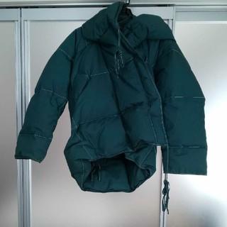 ヴィヴィアンウエストウッド(Vivienne Westwood)のヴィヴィアンウエストウッド 変形ダウンジャケット コート グリーン(ダウンコート)