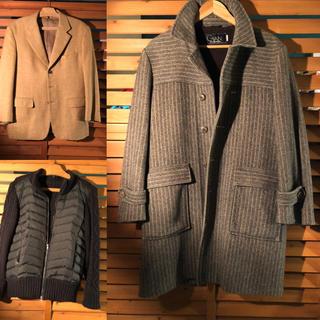 クリスチャンディオール(Christian Dior)のロングコート ジャケット アウター セット メンズ(チェスターコート)