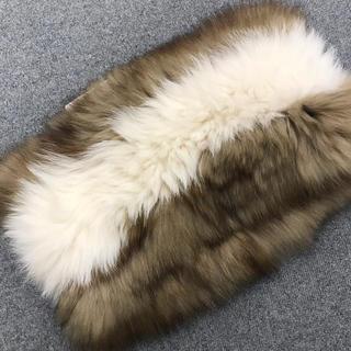 フルラ(Furla)の新品タグ付FURLAフォックスファースヌード(スヌード)