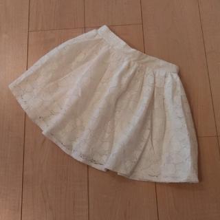 エムピーエス(MPS)のキッズ MPS 女の子120 スカート 白(スカート)