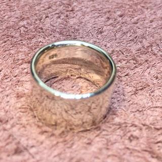 シルバー925 リング ピンキー 平打ち シンプル 5号 ワイド 幅広 プレーン(リング(指輪))