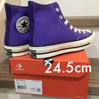 コンバース(CONVERSE)の【即日発送】ct70  HI NIGHT SHADE 紫 24.5cm(スニーカー)