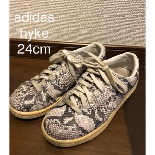 HYKE - adidas HYKE 蛇柄スニーカー レア 24センチ