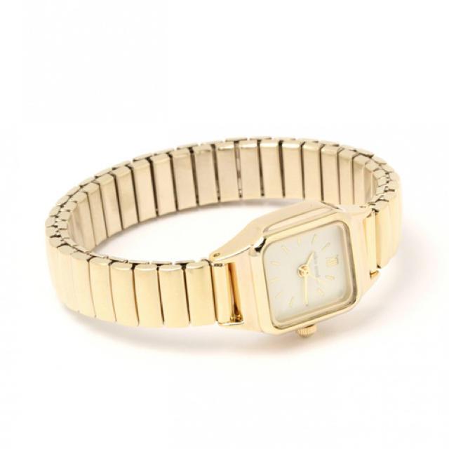 niko and...(ニコアンド)のジャバラスクエアウォッチ レディースのファッション小物(腕時計)の商品写真