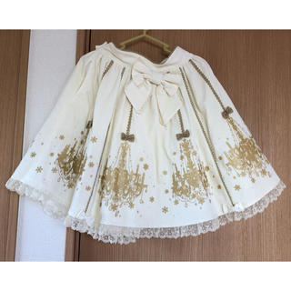 アンジェリックプリティー(Angelic Pretty)のシャンデリアSK(ひざ丈スカート)