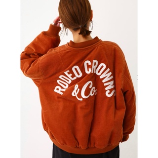 RODEO CROWNS WIDE BOWL - ロデオクラウンズ リバーシブルコーデュロイMA-1