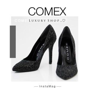 コメックス(COMEX)の♡新品同様♡COMEX♡美脚♡グリッターラメ♡ハイヒール♡(ハイヒール/パンプス)
