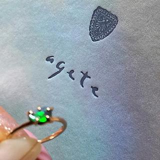 アガット(agete)のアガット リング(リング(指輪))