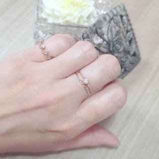 エテ(ete)のジュエッテ★K10ひねりリング(リング(指輪))