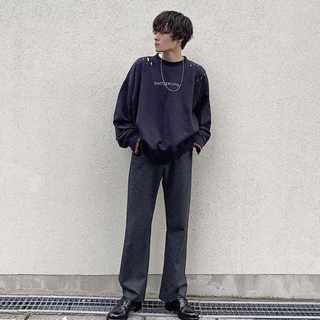 サンシー(SUNSEA)のSUNSEA  18aw  N.M Brushed TEKETEKE Pants(その他)