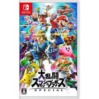 ニンテンドースイッチ(Nintendo Switch)の大乱闘スマッシュブラザーズ スペシャル special(家庭用ゲームソフト)