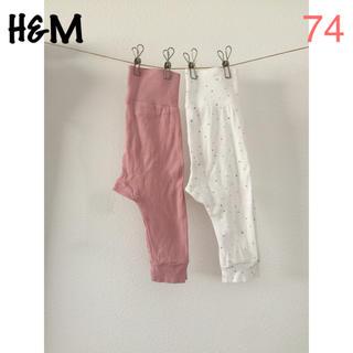 H&M - H&M パンツ 2本セット