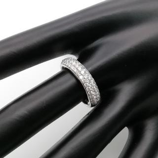セリーヌ(celine)の未使用 希少 セリーヌ プラチナ ダイヤモンド リング AZ10(リング(指輪))
