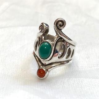 ⭐️美品⭐️ 天然石シルバーリング(リング(指輪))