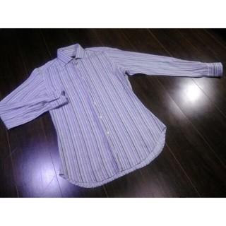 エトロ(ETRO)の高級/ETRO/エトロ/ストライプ/シャツ/ドレスシャツ/スーツ/ジャケット(シャツ)