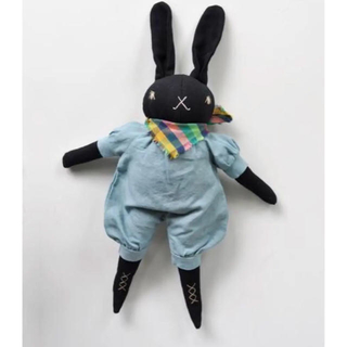 Polka Dot Club MEDIUM RABBITS Blue