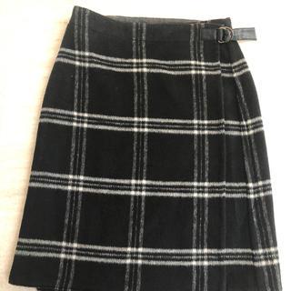 ルーニィ(LOUNIE)の【LOUNIE】リバーシブルスカート新品未使用(ひざ丈スカート)