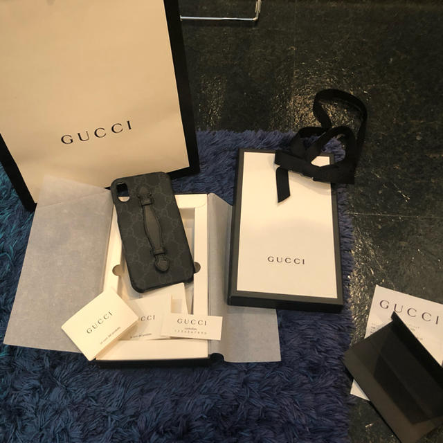 Gucci - GUCCI iPhone Xケースの通販