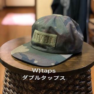 ダブルタップス(W)taps)のw)taps  ダブルタップス 古着迷彩カモフラキャップ メンズ レディース キ(キャップ)