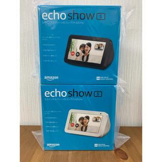 エコー(ECHO)の☆新品・未開封☆Amazon  Echo show 5 お得な2台セット!(スピーカー)