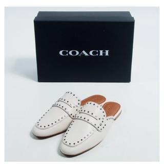 コーチ(COACH)のコーチ coach スリッパシューズ 25.5cm(スリッポン/モカシン)