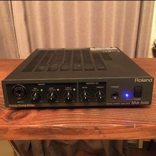 ローランド(Roland)のRoland SRA-5050 アンプ ミキサー ハーフラックサイズ コンパクト(パワーアンプ)