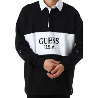 ゲス(GUESS)のGUESS 2トーンラガーシャツ サイズM(ポロシャツ)