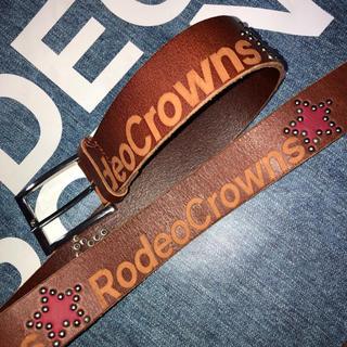 ロデオクラウンズ(RODEO CROWNS)のロデオ ベルト スタッズ(ベルト)