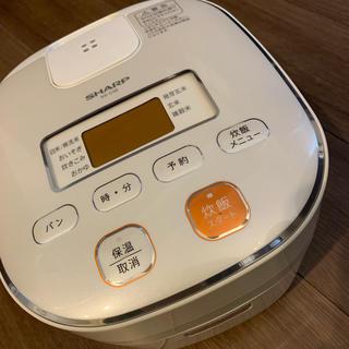 シャープ(SHARP)の送料無料 SHARP 3合炊き炊飯器(炊飯器)