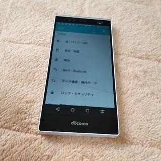 フジツウ(富士通)のジャンク ARROWS NX (F-04G) simフリー(スマートフォン本体)
