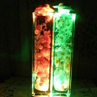 光るハ―バリウム(ドライフラワー)