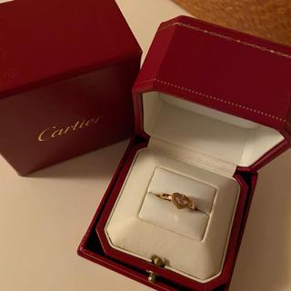 カルティエ(Cartier)の大人気 Cartier ピンクサファイア cハート リング(リング(指輪))