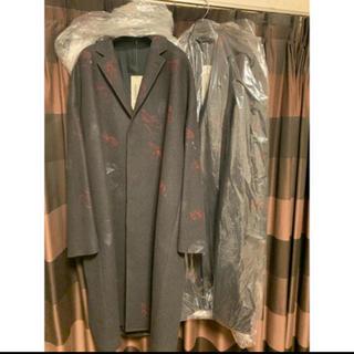 LAD MUSICIAN - 花柄 BIG CHESTER COAT  18aw  新品  44サイズ