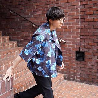 ジエダ(Jieda)のryo takashima blue lose open color shirt(シャツ)