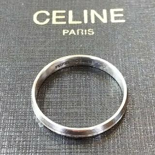 セリーヌ(celine)の激レア・セリーヌプラチナ850リング(リング(指輪))