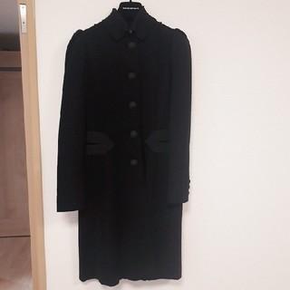 エンポリオアルマーニ(Emporio Armani)のEMPORIO ARMANI 黒コート(ロングコート)