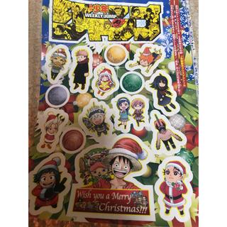週刊少年ジャンプ 付録 クリスマス シール(キャラクターグッズ)