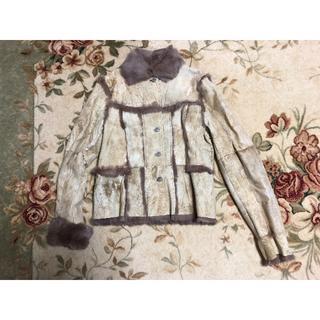 ドルチェアンドガッバーナ(DOLCE&GABBANA)のレアモデル OTHER  富和  レザージャケット(毛皮/ファーコート)