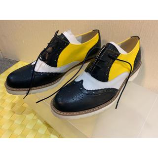 バークレー(BARCLAY)のバークレー/レースアップシューズ NVC 23cm 日本製 (ローファー/革靴)