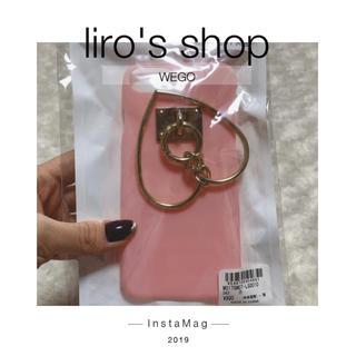 ウィゴー(WEGO)のWEGO♡マットリングiPhone6/7ケース(iPhoneケース)