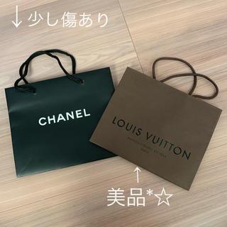 ルイヴィトン(LOUIS VUITTON)の【CHANEL♡LOUIS VUITTON】ショップ袋(ショップ袋)