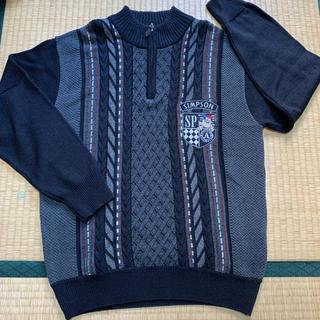 シンプソン(SIMPSON)の美品☆SIMPSON わんちゃん 犬エンブレム付きニット セーター(ニット/セーター)