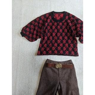グリモワール(Grimoire)のused古着アンティーク着物羽織りニット(着物)