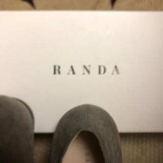 ランダ(RANDA)のランダ 未使用パンプス 23.5 お値下げ!(ローファー/革靴)